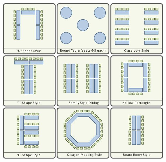 wedding layout planner
