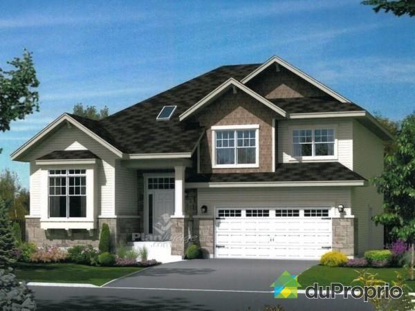 Maison neuve a vendre drummondville 1445 rue marrier - Plan de maison quebec ...