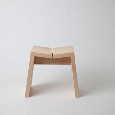 Hinoki Wood Stools