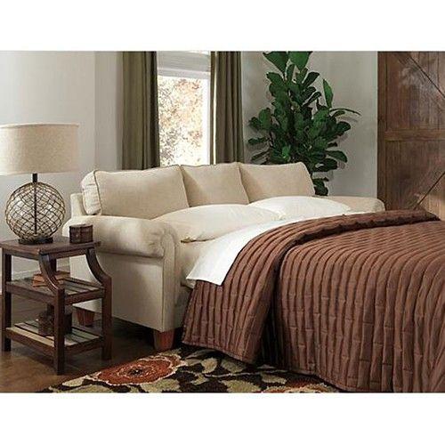 Ballari Queen Sofa Sleeper - Linen - Ashley Furniture | Milan Direct