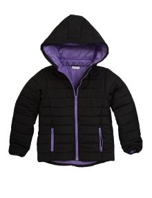 Expressions Quilted Jacket with Hood product photo