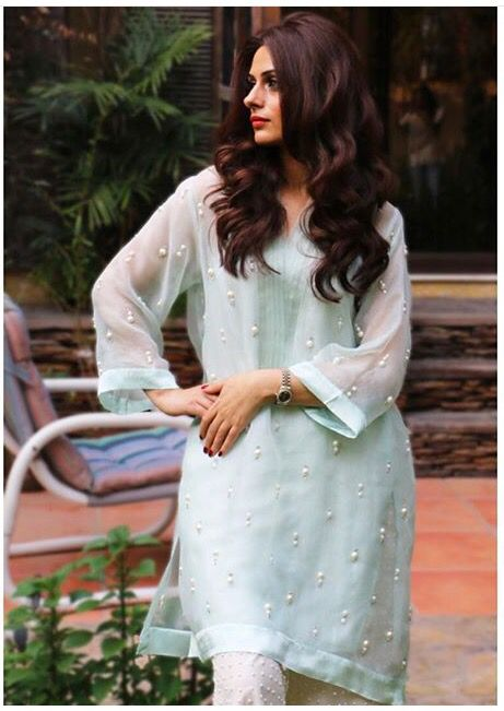 Gorgeous kurta by farida Hassan
