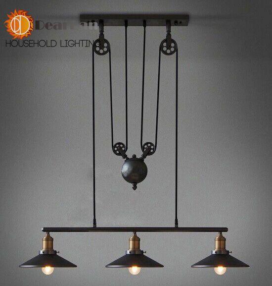 Современный краткое подвесной светильник железа лампы старинные лампы, принадлежащий категории Подвесные светильники и относящийся к Свет и освещение на сайте AliExpress.com