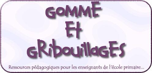 * Gomme & Gribouillages - Ressources pédagogiques *