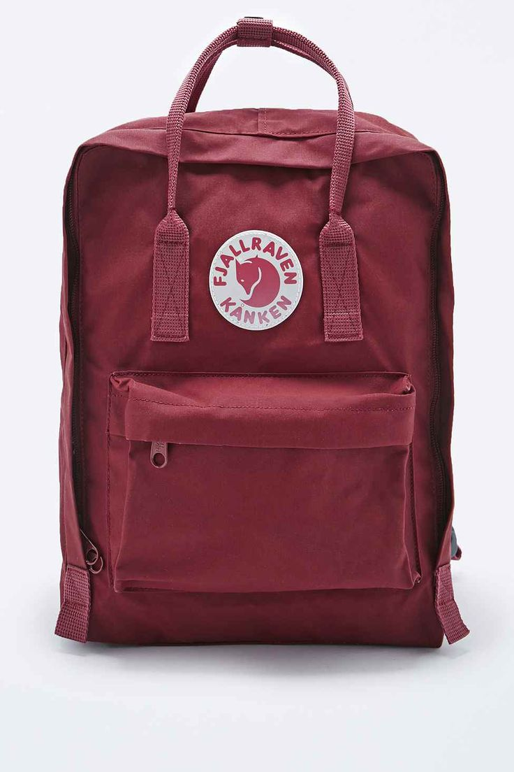 Fjallraven Kanken Classic Backpack in Ox Red 85 ~ got one for Christmas  yesterday!
