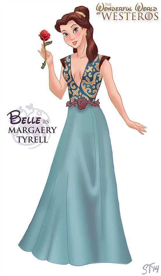 Top 11 des princesses Disney version personnages de Game of Thrones