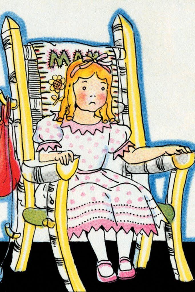 Goldilocks Chair Of Mama Bear By Julia Letheld Hahn