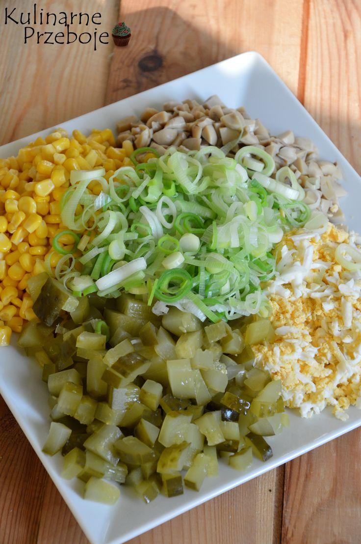 Sałatka z marynowanymi pieczarkami i porem śmiało może zastąpić zwykły obiad. Poza tym idealnie nadaje się do grilla :) Dla osób dbających o linię (i nie tylko dla tych ;) ) zamieściłam poniżej wartości odżywcze tej sałatki.  Sałatka z marynowanymi pieczarkami i porem – Składniki: 1 słoik marynowanych pieczarek (420g po odsączeniu z zalewy) […]