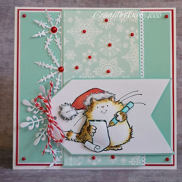 Another Penny Black cutie.  Love the relative simplicity that allows the image to stand out. - A Scrapjourney