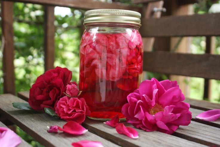 Un vinaigre à la rose