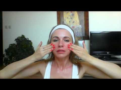 Tvarová gymnastika, 8 min japonská lymfatická masáž - YouTube