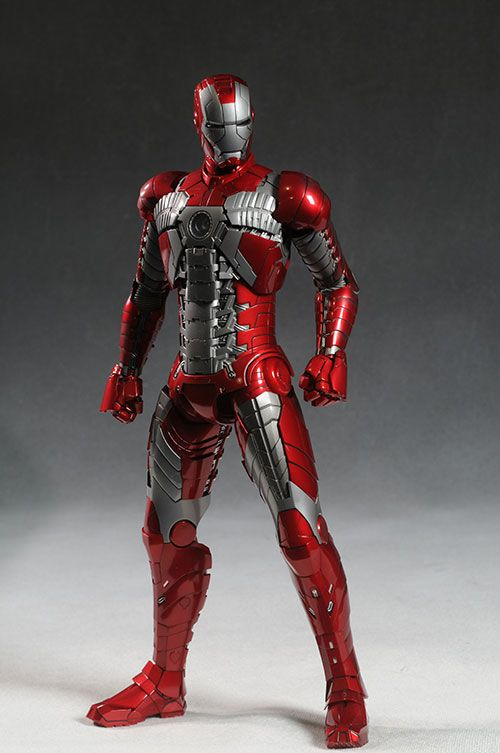 Iron Man MKV sixth scale action figure by Hot Toys