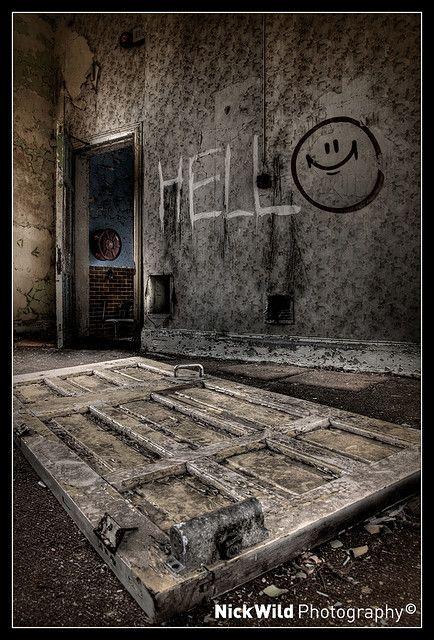 Hellingly Hospital, UK ~ Nick Wild Photography
