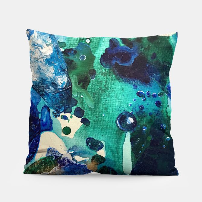 The Wonders of the World, Tiny World Collection Pillow, Live Heroes