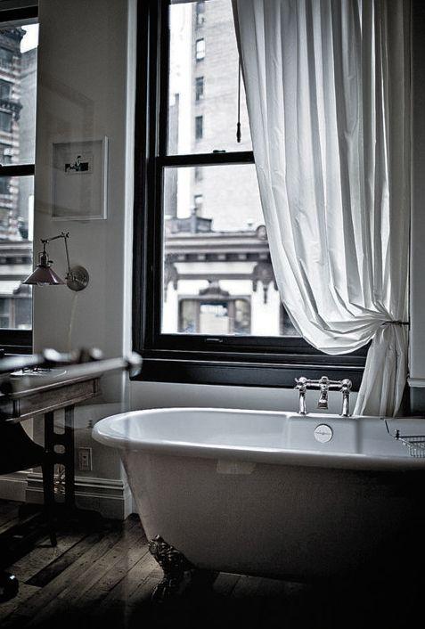 Freestanding Bathtub #moody #white