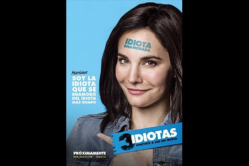 Find out: Movie – Director – Stars   Movie: 3 Idiotas ( Comedy | Family ) 2017 In Theaters    Director: Carlos Bolado  Stars: Martha Higareda, Alfo