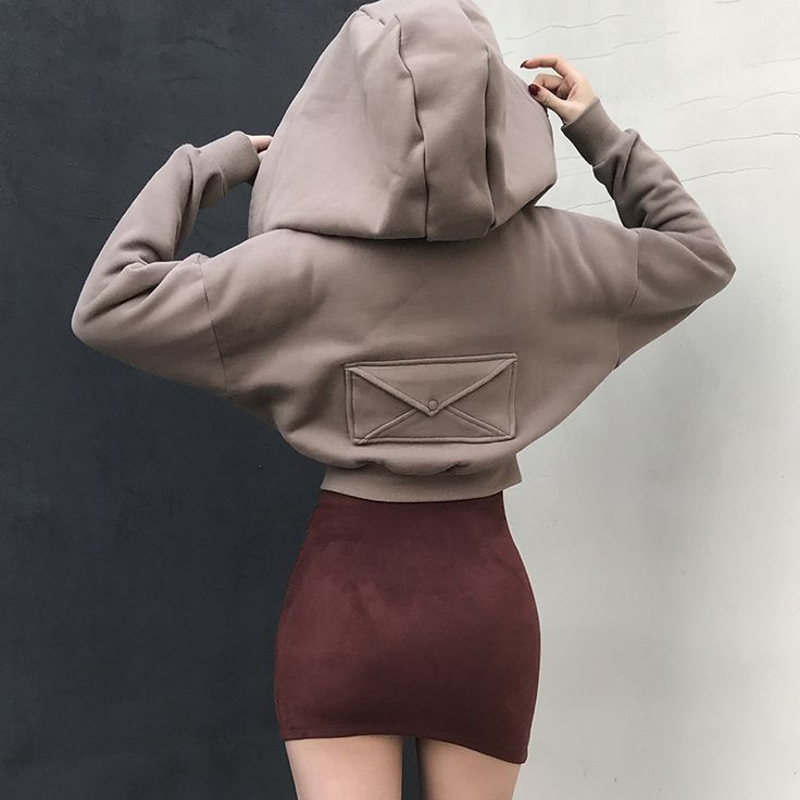 Aliexpress.com : Buy le palais vintage Street Snap Bating Sleeve Oversize Hat Ultrashort Short Thicken Brief Fashion Zipper Spring Women Girl Hoodies from Reliable fashion hoodie suppliers on Mr. and miss