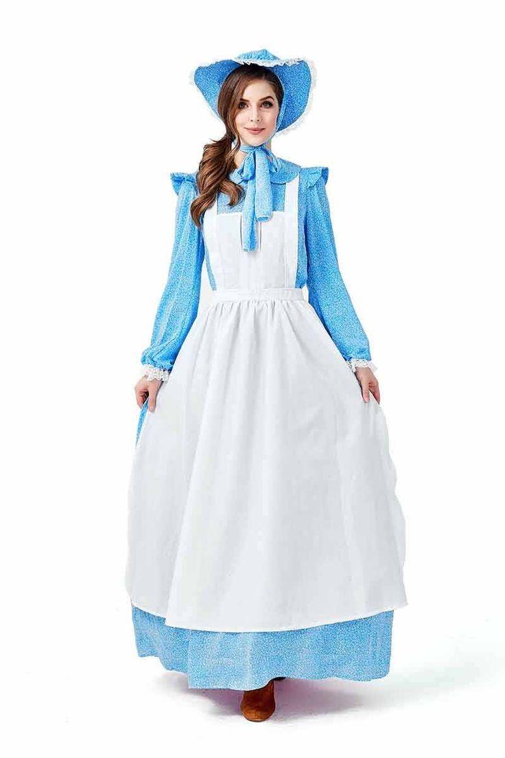 California costumes womens pioneer woman cosplay
