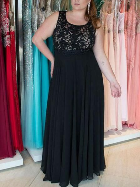 30ff3135ba9 Black Plus Size Prom Dresses