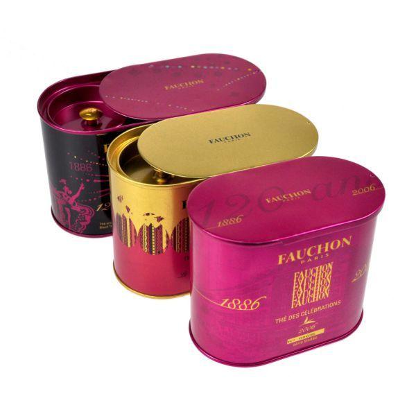 Fauchon / Packaging Thé / Vanille Design