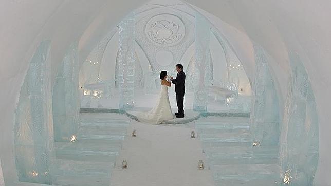 hotele de hielo