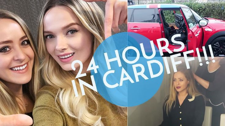 24 Hours in CARDIFF! | Fleur De Vlog