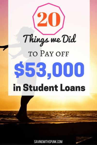 Pay off Student Loan Debt
