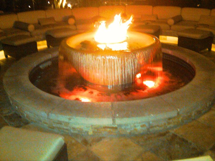 17 best images about water and fire features on pinterest for Fire and water features