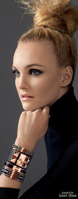 Model: Caroline Trentini wearing Hermès for Americana Manhasset Holiday 2015