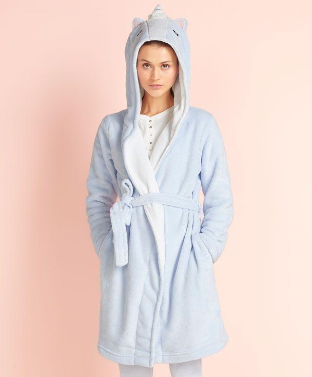 Robe de chambre licorne (39,99) - OYSHO (nov 2015)