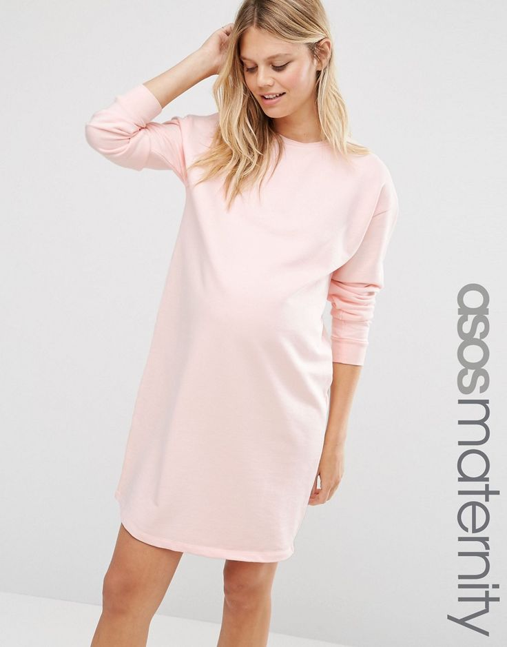 ASOS Maternity Oversized Sweat Dress