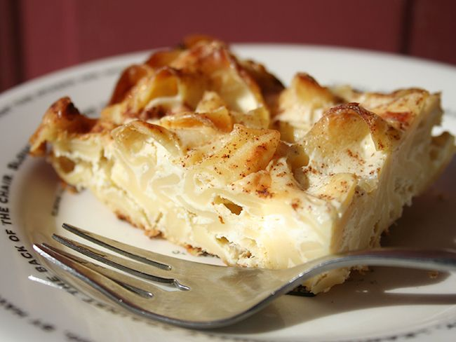 Cook up a warm, creamy traditional Jewish dish that your family will love using our noodle kugel recipe. Bonus points if you eat it with applesauce!