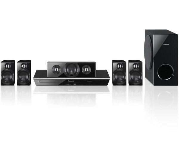 PANASONIC SC-BTT400EBK 5.1 Smart 3D Blu-ray Home Cinema System £179.99