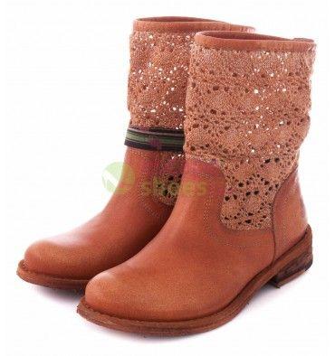 Ankle Boots FELMINI 8260 Tresor Renda Metal Camel - EscapeShoes http://www.escapeshoes.com/47_felmini