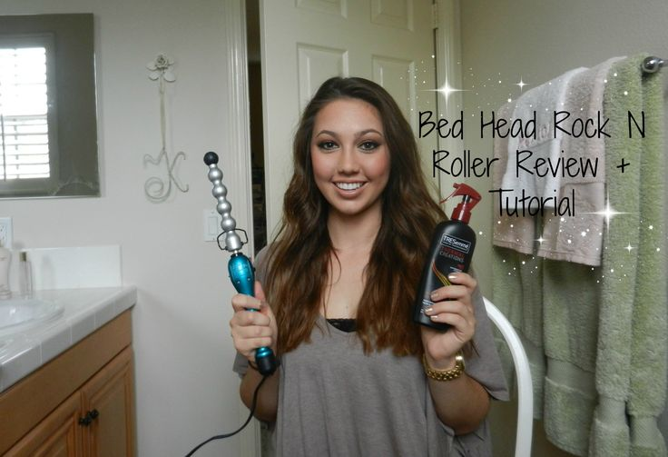 Bed Head Rock N Roller Bubble Curling Iron Wand - Review & Tutorial