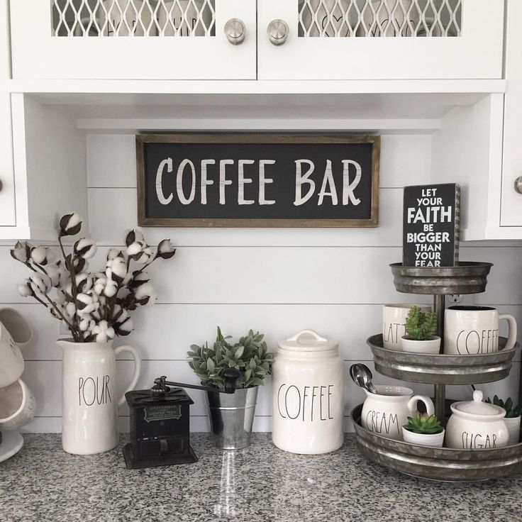 tiered tray from hobby lobby coffee bar home stylish kitchen decor on kitchen decor themes hobby lobby id=74261