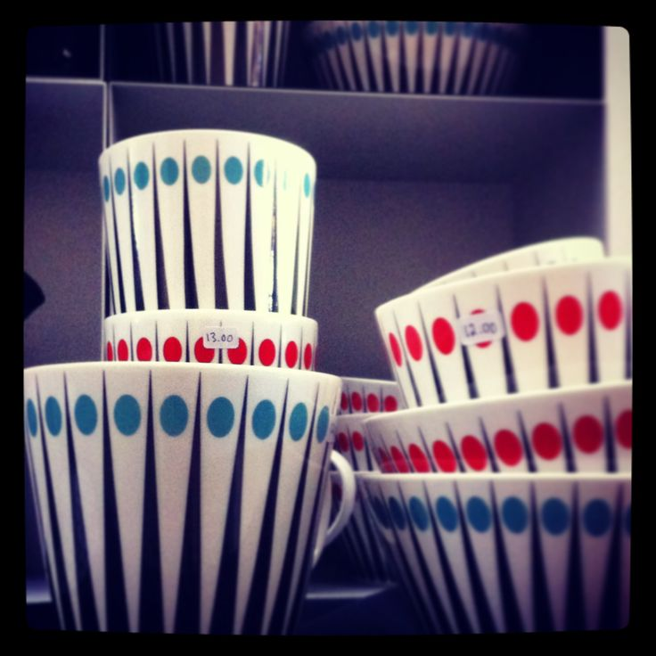 Cute dishware by Superliving from Designbox.fi