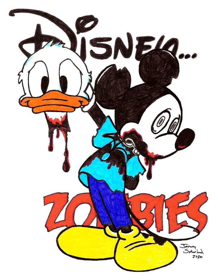 Mickey Zombie