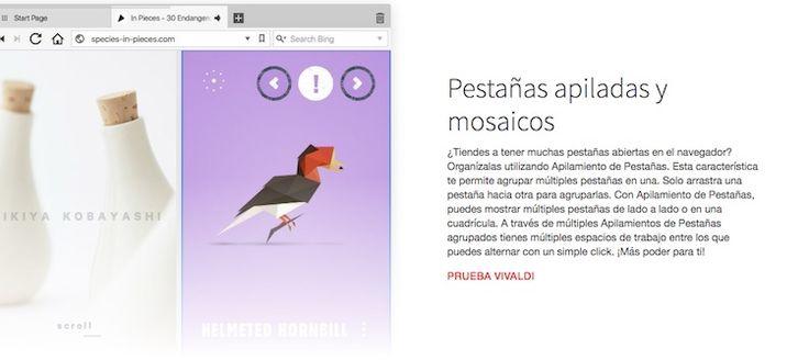 vivaldi-1 Vivaldi: La mejor alternativa a Google Chrome se actualiza y mejora