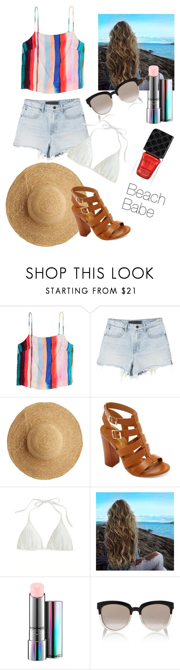"""""""May"""" by judehassan on Polyvore featuring Alexander Wang, Flora Bella, Bamboo, J.Crew, MAC Cosmetics, Christian Dior and Gucci"""