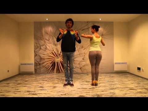 Kizomba Class Vol.2 with Nemanja & Laura - YouTube