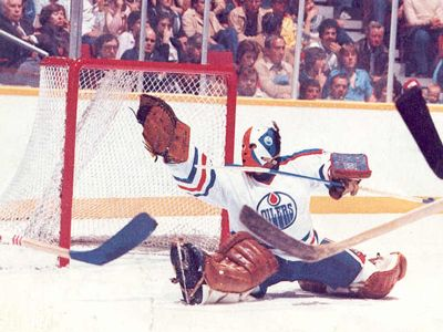 """Wayne Gretzky's assault on the NHL record book and the colossal collapse known as the """"Miracle on Manchester"""", are what most people remember about the 1981-82 Edmonton Oilers. Few seem to recall the special year put together by a rookie goaltender by the name of Grant Fuhr."""