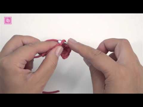 Half stokje haken - Nederlandse instructie [USA] half double crochet [UK] half treble