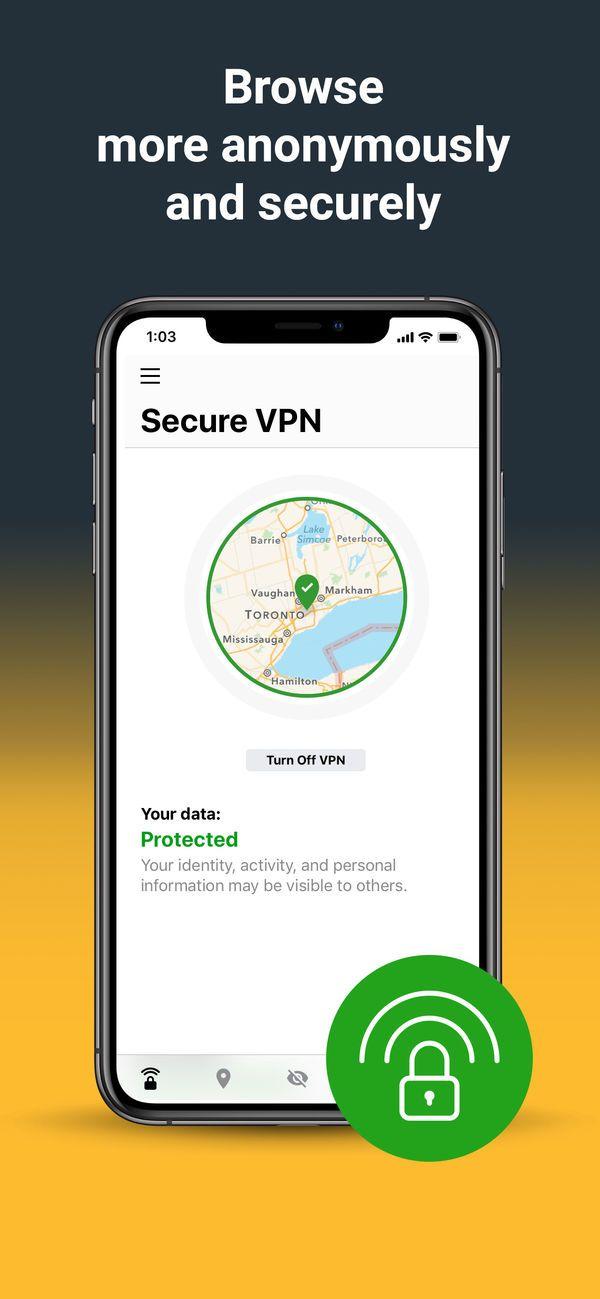 Norton Secure Vpn On The App Store Security Norton Security App