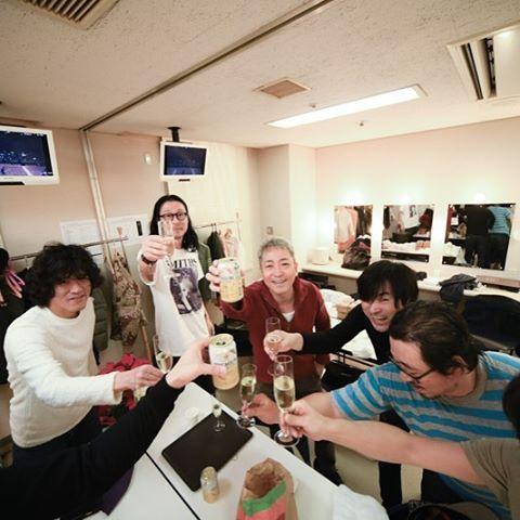 恵比寿ガーデンプレイスでおこなわれたロッキンクリスマス2016 佐野元春 & コヨーテバンド。 無事終了!