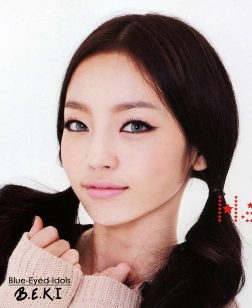Blue Eyed Asian Girl