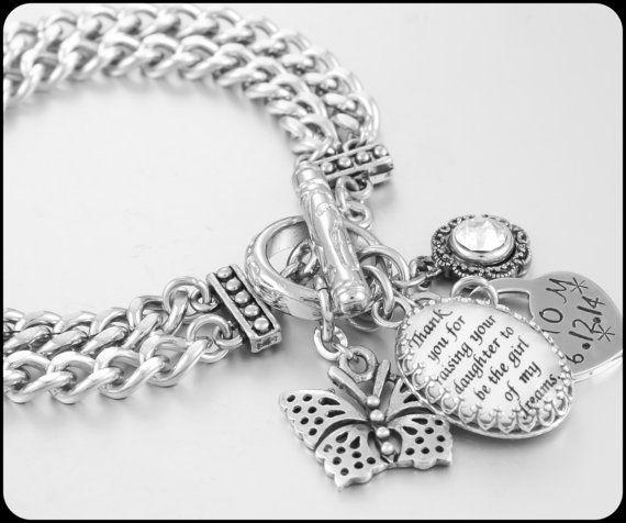 Mother of the Bride Bracelet Wedding Bracelet by BlackberryDesigns, $68.00
