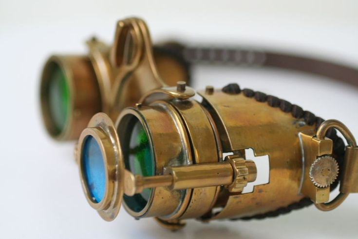 "How to make Steampunk goggles ""N-Axis""."