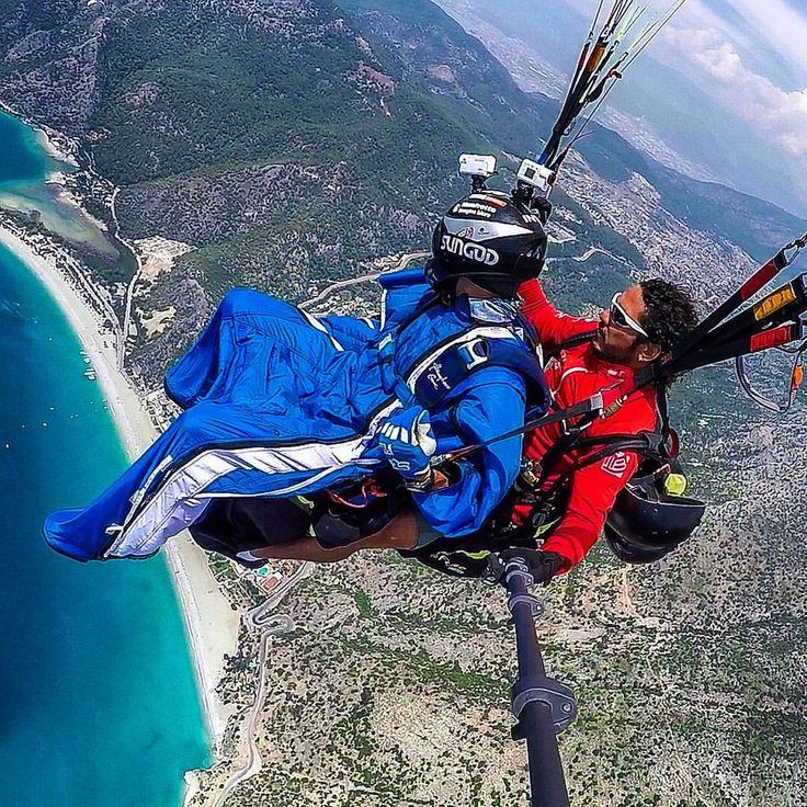 "244 Likes, 3 Comments - Oleg ParaMon ∞ Extreme Travel (@onparamon) on Instagram: ""Зона высадки 😉 #oludeniz #tyrkey посылаю все 🌞 🙏 #wingsuit #paragliding #параплан #турция #dropzone…"""