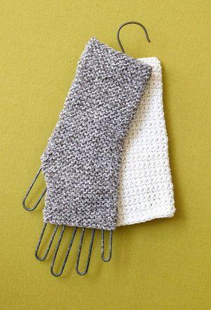 Free fingerless gloves crochet pattern